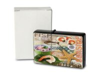 Petrol Lighter Printed fish shrimps and crustaceans