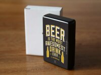Pocket Windproof Lighter Brushed Oil Refillable Best...