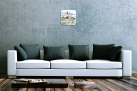 Wall Clock Holiday Travel Agency F. Heigl North Sea...