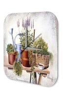 Wall Clock Flora Floral Decoration F. Heigl Still life...
