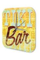 Wall Clock Bar Party Vintage Decoration M.A. Allen Tiki...
