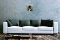 Wall Clock Nursery Decoration Bernese Mountain Dog...