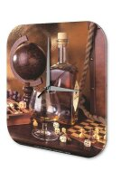Wall Clock Bar Party Vintage Decoration whiskey...