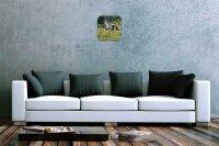 Wall Clock Kitchen Decor Horse race pasture printed acryl...
