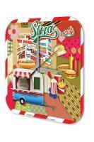 Wall Clock Holiday Travel Agency Fast Food Pizza Hot Dog...