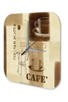 Wall Clock Coffee Cafe Bar Couple in red car Decorative...