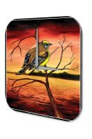 Decorative Wall Clock Vet Practice colorful decorated...