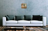 Decorative Wall Clock Vet Practice drake Acryl Acrylglass