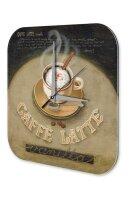 Wall Clock Restaurant Kitchen Decoration Caffe Latte...