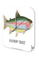 Decorative Wall Clock Vet Practice Rainbow trout Acryl...