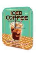 Wall Clock Restaurant Kitchen Decoration Ice coffee glass...