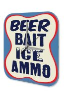 Fun Wall Clock Vintage Decor Beer ice debate ammunition...