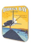 Wall Clock World Tour Bodega Bay California birders...