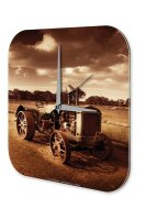 Wall Clock Tractor Tugs tractor Printed Acryl Acrylglass
