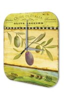 Wall Clock Kitchen Decor Olive branch Printed Acryl...