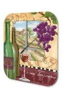 Wall Clock Bar Party Vintage Decoration Wine Acrylglas
