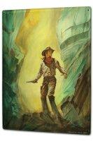 Tin Sign XXL Nostalgic Western Style cowboy