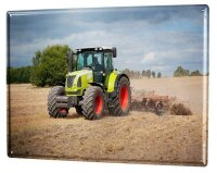 Tin Sign XXL Home Office Farmer Professional Title