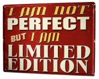 Tin Sign XXL Retro Limited Edition