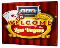 Tin Sign XXL City casino las vegas