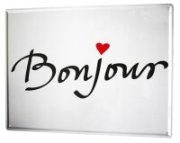 Tin Sign XXL Fun Bonjour