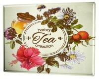 Tin Sign XXL Nostalgic Herbal tea