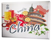 Tin Sign XXL Holiday Travel Agency China