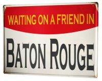 Tin Sign XXL City Baton Rouge USA