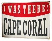 Tin Sign XXL City Cape Coral USA