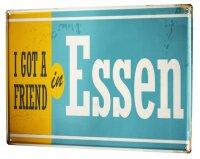Tin Sign XXL City Essen Germany