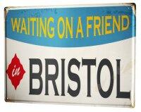 Tin Sign XXL City Bristol England