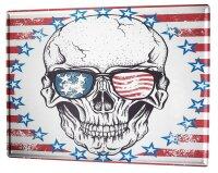 Tin Sign Fantasy Gothic skull