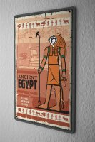 Tin Sign Ancient Egypt Egypt Sphinx Pyramid Desert Vintage