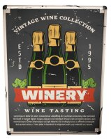 Tin Sign Bar Party Shabby Style Winery