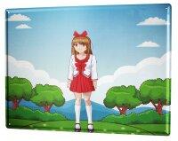 Tin Sign Fun Kitchen Manga girl