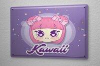 Tin Sign Fun Kitchen Manga Kawaii