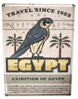 Tin Sign Adventurer Egypt
