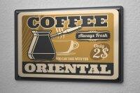 Tin Sign Coffee Cafe Bar coffee