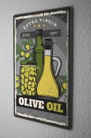 Tin Sign Kitchen Olive oil