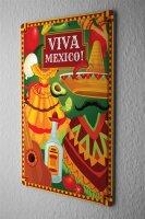Tin Sign Holiday Travel Agency Viva Mexico