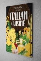 Tin Sign Retro Pasta Italian cuisine