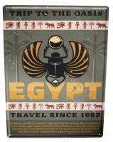 Tin Sign World Trip Egypt
