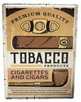 Tin Sign Bar Restaurant Tobacco Cigar