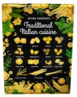 Tin Sign Kitchen Noodles Italian Herbs