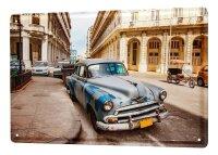 Tin Sign XXL Holiday Travel Agency Cuba vintage