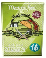 Tin Sign XXL Food Restaurant mexicon food