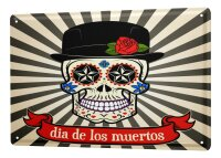 Tin Sign XXL Fun day of the dead