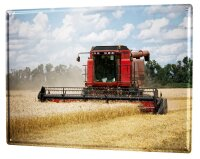Tin Sign XXL Nostalgic Tractor Ravtive tractor field