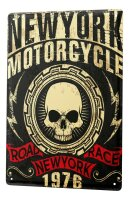 Tin Sign XXL Garage Road race new york
