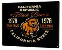 Tin Sign XXL City Califronia State